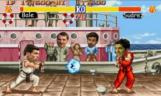 Gareth Bale v Luis Suárez