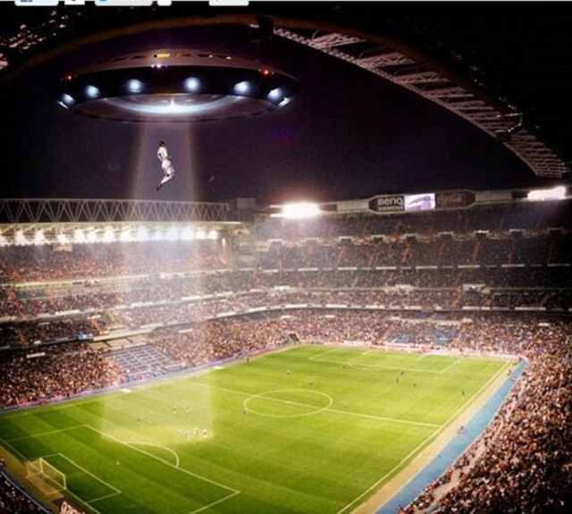 Cristiano-ronaldo-rises-up-into-a-UFO-over-the-Bernabeu-Stadium-football